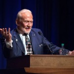 Buzz Aldrin impressed by Purdue's plan for Mars