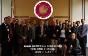 Florida Tech Buzz Aldrin Space Institute group photo 1-19-2016