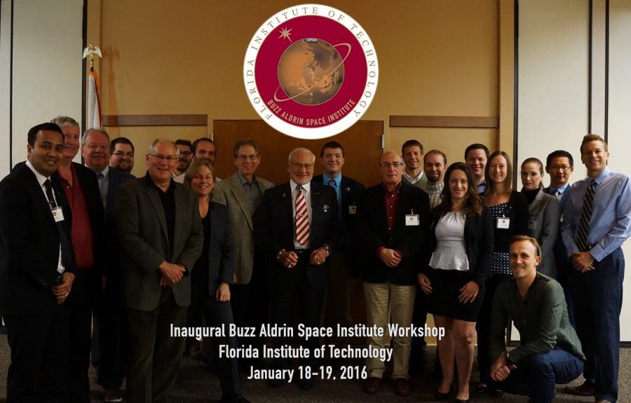 Florida Tech Buzz Aldrin Space Institute group photo 1-19-2016