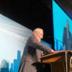 Buzz Aldrin receives honor from NJ Chamber of Commerce