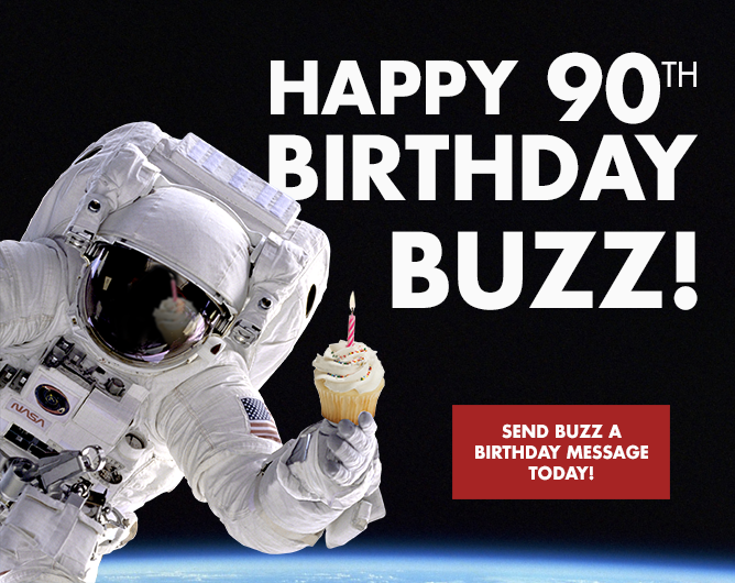 buzz aldrin 90th birthday
