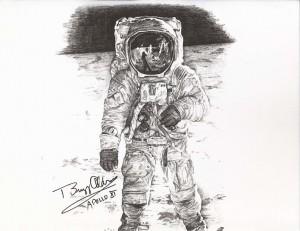 Buzz Aldrin Astronaut Apollo 11, Gemini 12 » Paul Calle