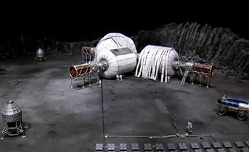 Conceptual lunar base