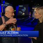 Just before explosion, Buzz Aldrin praises SpaceX's Elon Musk