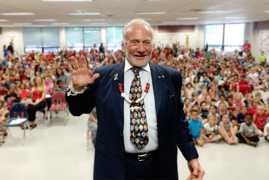 buzz-aldrin-elementary-20th-anniversary