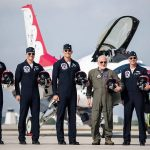 Buzz Aldrin Blasts Off With The USAF Thunderbirds For A Record Flight