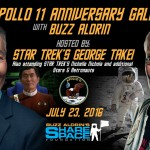 Oh My! George Takei, Buzz Aldrin to host gala at KSC