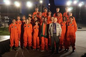 Lynx spaceflight winners of Axe Apollo Space Academy