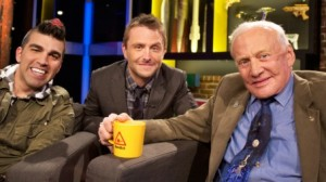 Buzz will be on 'The Nerdist' Saturday, May 11 at 10pm/9c on <a href=
