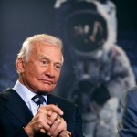 Astronaut Buzz Aldrin wants people to share their memories of the first walk on the moon
